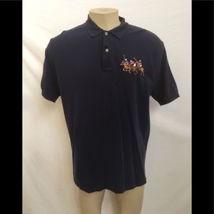 Polo By Ralph Lauren Size L Navy Blue Polo Shirt